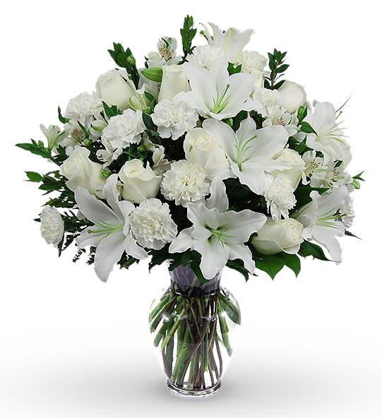 Classic Sympathy Arrangement International Flower Delivery Online Flower Delivery